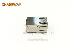 HR871119C PoE RJ45 Connector , 10 / 100BASE-TX Power Over Ethernet RJ45 Connector