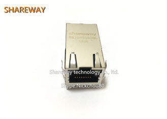 China Single Port PoE RJ45 Connector 20 Pin JK0-0177NL For Most Leading PHY supplier