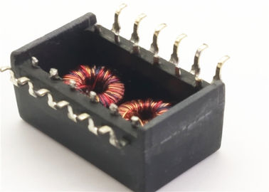 China Ethernet Interface Magnetic Core Transformer 100Base - T 23Z91SMNL Single Phase supplier