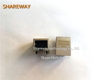 China Switches Magnetic Ethernet Connector J0011D01NL 100 Base-TX CE Certified factory
