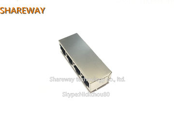 China J1N-0006NL High performance Low Profile RJ45 Jack for maximum EMI suppression factory