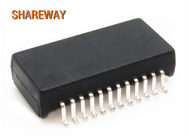 China Single Port Discrete Ethernet Magnetic Transformers 50 PIN S558-5999-CJ With PoE distributor