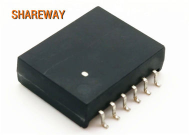 China Power Over Ethernet POE LAN Transformers Magnetic Module S558-5999-BA-F Durable distributor