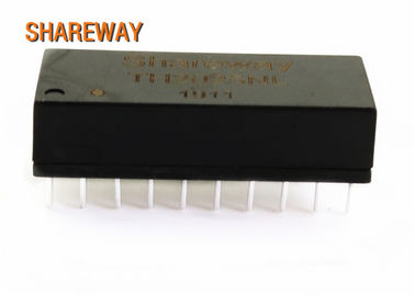 China Dual Ports Through Hole Gigabit Ethernet Transformer G4801DG 100/1000 Base -T For PCB distributor